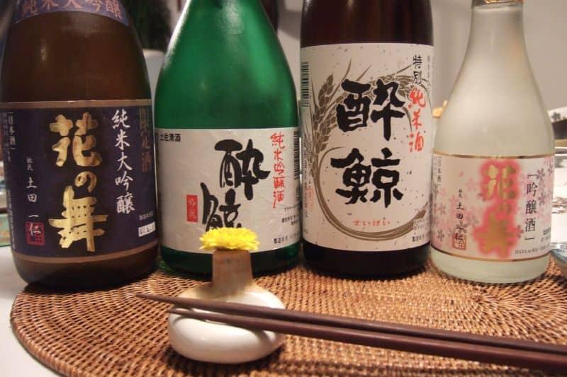 Bottiglie di sake