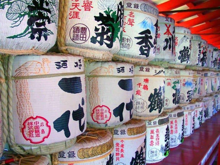 Storia del sake