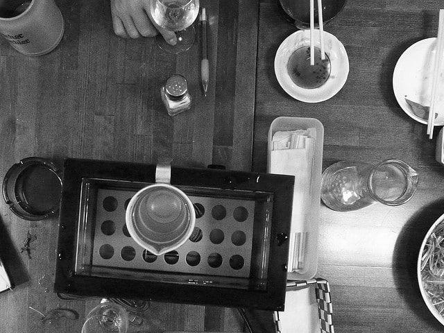 Come bere il sake (foto di Rodrigo Verschae)