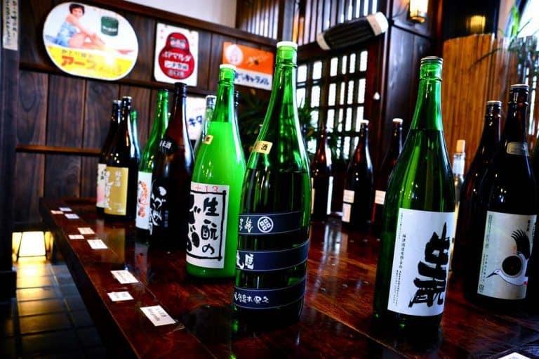 Tipi di sake (foto di Jason Wong)
