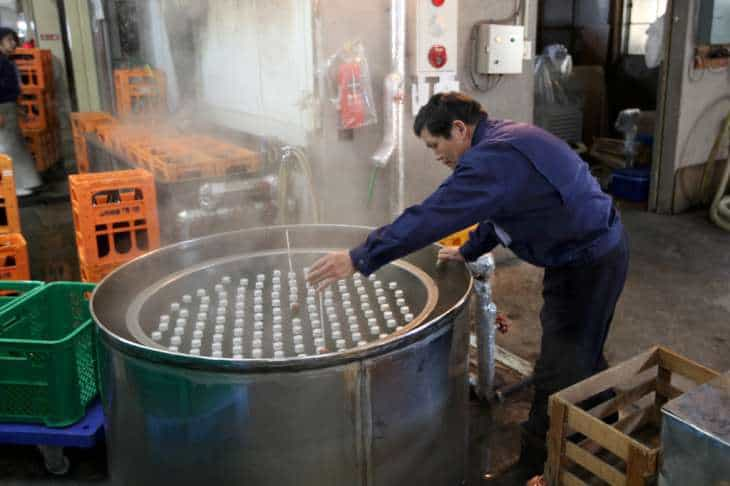 Pastorizzazione sake