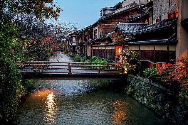 panorama autunno kyoto